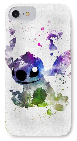 Stitch IPhone Case by Rebecca Jenkins