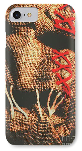Stitched Up Madness IPhone Case by Jorgo Photography - Wall Art Gallery