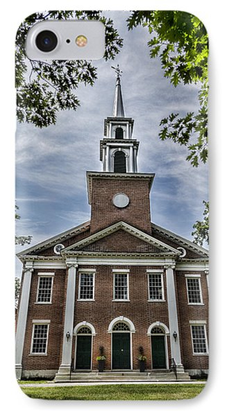 Stockbridge Congregational Church IPhone Case