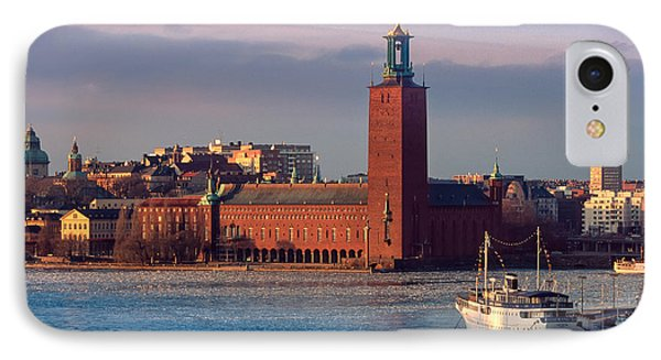 Stockholm City Hall IPhone Case