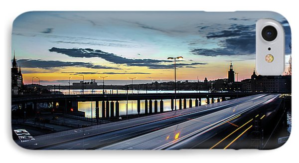 Stockholm Night - Slussen IPhone Case