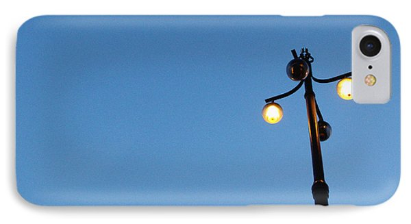 Stockholm Street Lamp IPhone Case by Linda Woods