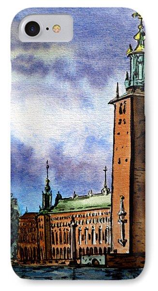 Stockholm Sweden IPhone 7 Case