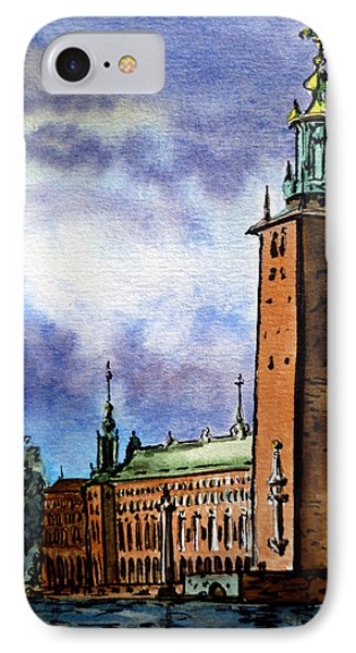 Stockholm Sweden IPhone Case by Irina Sztukowski