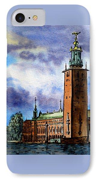Stockholm Sweden IPhone Case by Irina Sztukowski
