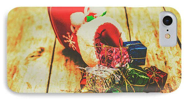 Stocking Up For Christmas IPhone Case by Jorgo Photography - Wall Art Gallery