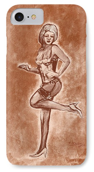 Stockings And Stilettos  IPhone Case by Tom Conway