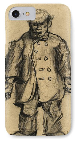 Stocky Man, 1885 01 IPhone Case by Vincent Van Gogh