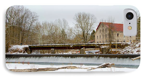 Stocton New Jersey - Prallsville Mills IPhone Case by Bill Cannon