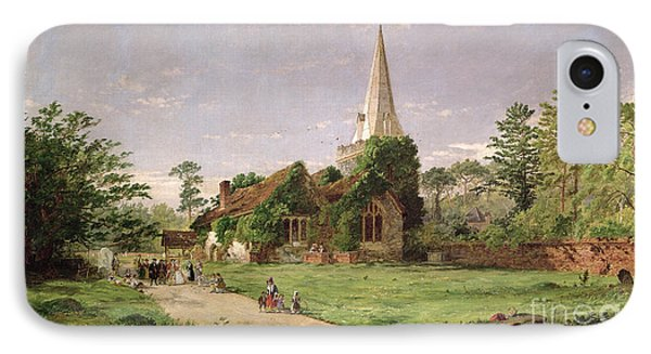 Stoke Poges Church IPhone Case