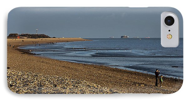 Stokes Bay England IPhone Case by Terri Waters