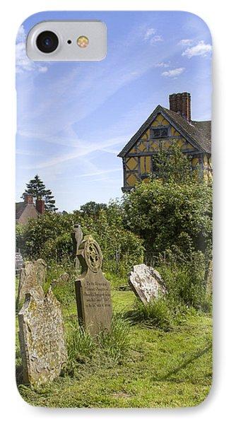 Stokesay Castle Gatehouse Shropshire England IPhone Case