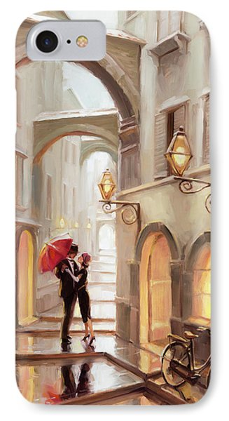 Stolen Kiss IPhone Case by Steve Henderson