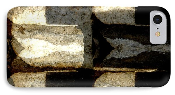 Stone Abstract IPhone Case by Barbara Moignard