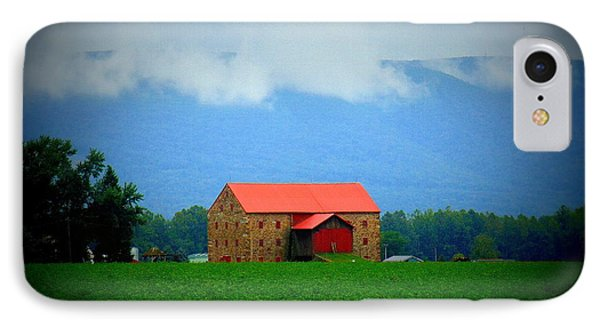 Stone Barn IPhone Case by Charlotte Gray