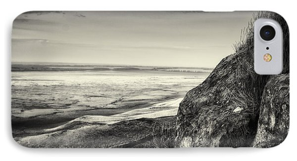 Stone Block Landscape And Rolling Valley IPhone Case by John Williams