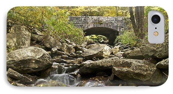 Stone Bridge 6063 Phone Case by Michael Peychich