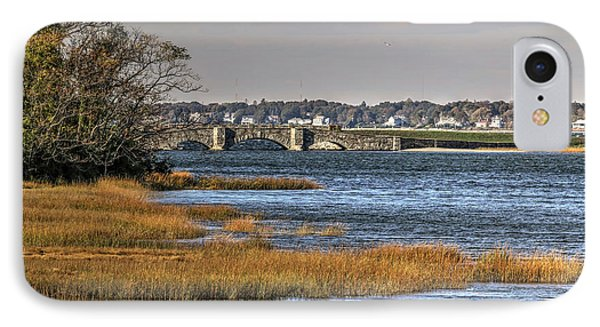 IPhone Case featuring the photograph Stone Bridge At Mills Gut Colt State Park by Tom Prendergast
