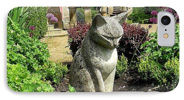 Stone Cat Phone Case by Patrick J Murphy