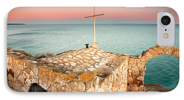 Stone Chapel Phone Case by Evgeni Dinev