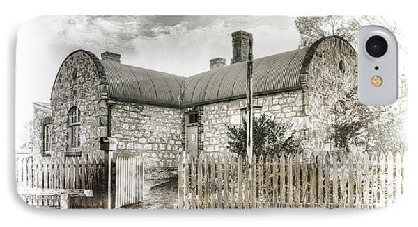 IPhone Case featuring the photograph Stone Cottage by Wayne Sherriff