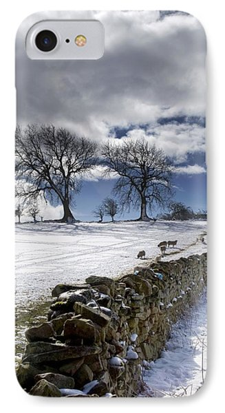 Stone Fence, Weardale, County Durham IPhone Case
