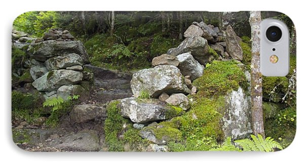 Stone Gate - Edmands Path - White Mountains New Hampshire  Phone Case by Erin Paul Donovan