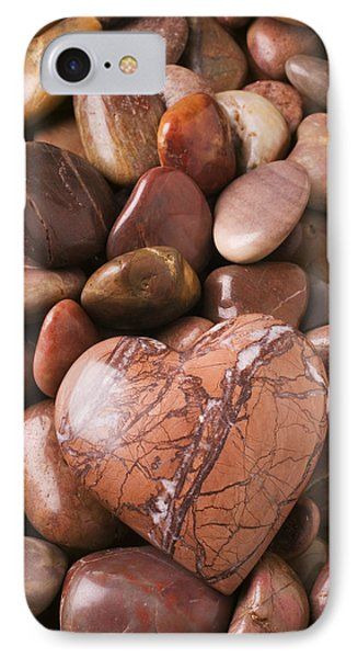 Stone Heart Phone Case by Garry Gay