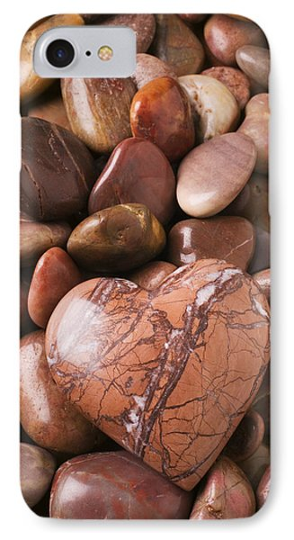 Stone Heart IPhone Case by Garry Gay