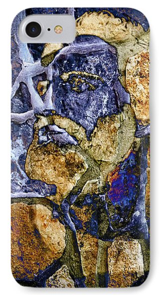 IPhone Case featuring the photograph Stone Man by Pennie  McCracken
