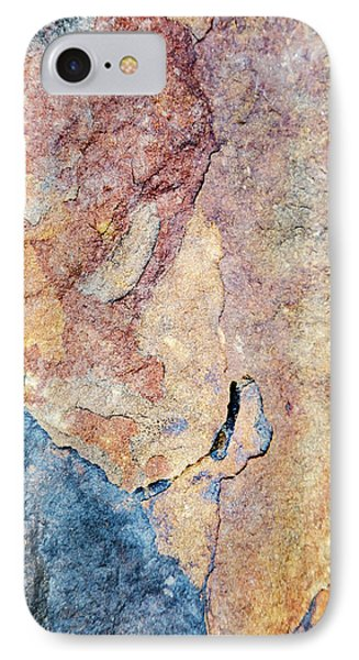 IPhone Case featuring the photograph Stone Pattern by Christina Rollo