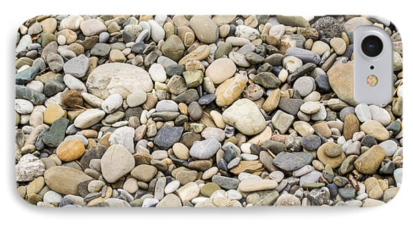 Stone Pebbles Patterns IPhone Case by John Williams