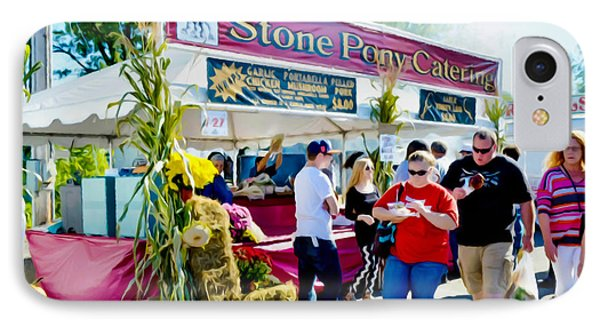 Stone Pony Catering IPhone Case by Lanjee Chee