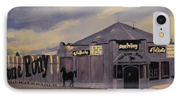 Stone Pony IPhone Case by Katerina Yager