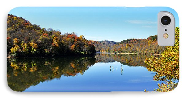 Stonecoal Lake In Autumn Color Phone Case by Thomas R Fletcher