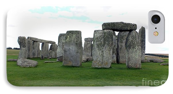 IPhone Case featuring the photograph Stonehenge 1 by Francesca Mackenney
