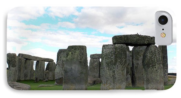 IPhone Case featuring the photograph Stonehenge 2 by Francesca Mackenney