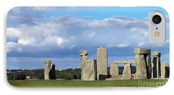 IPhone Case featuring the photograph Stonehenge 4 by Francesca Mackenney