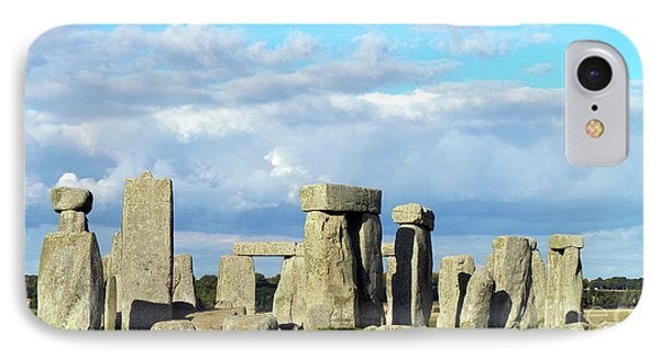 IPhone Case featuring the photograph Stonehenge 5 by Francesca Mackenney