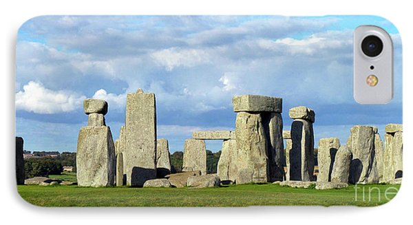 IPhone Case featuring the photograph Stonehenge 6 by Francesca Mackenney