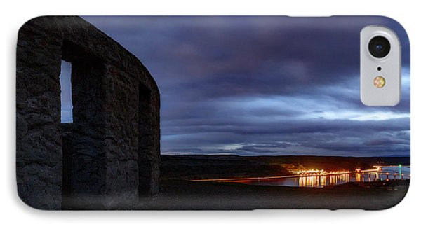IPhone Case featuring the photograph Stonehenge And The Columbia by Cat Connor