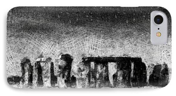Stonehenge At Dusk IPhone Case