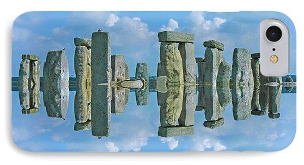 Stonehenge  IPhone Case by Betsy Knapp