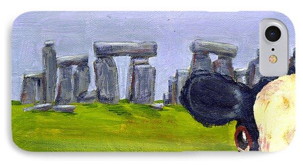 Stonehenge Cow IPhone Case