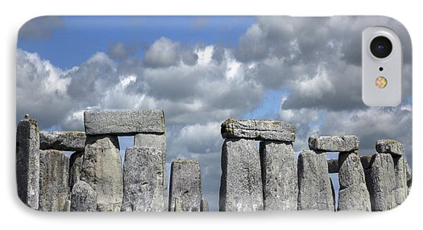 IPhone Case featuring the photograph Stonehenge by Elvira Butler