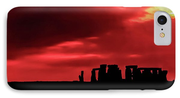 Stonehenge II Phone Case by Steve Harrington
