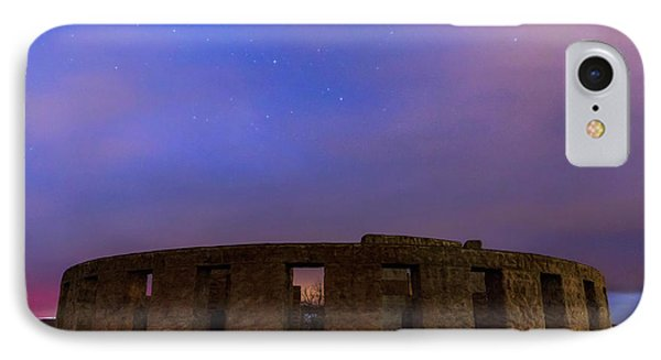 IPhone Case featuring the photograph Stonehenge Sunrise by Cat Connor