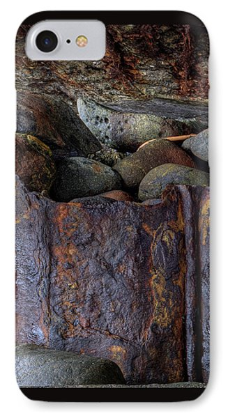 Rusted Stones 1 IPhone Case