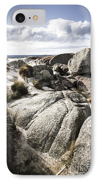 Stones Throw Away From The Sea IPhone Case