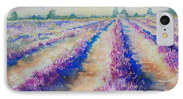 Stonewall Lavender IIi IPhone Case by Marsha Reeves